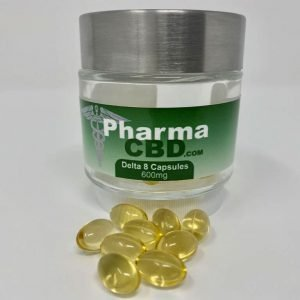 600 mg 30 count hemp-derived delta 8 capsules